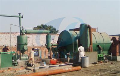 Henan-Doing - Waste Tyres Pyrolysis Plant