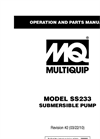 Model SS233 - Submersible Pumps Brochure