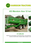 AS Marston Ace 12 ton Trailers - Brochure