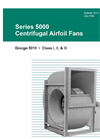 Series 5000 - Centrifugal Airfoil Fans Brochure
