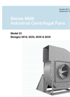 Series 6600 - Industrial Centrifugal Fans Brochure