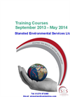 Training Brochure September 2013 - May 2014 - Brochure