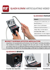 VJ-ADV - 6.9mm - Articulating Video Borescope Datasheet