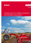 HORSCH - Joker CT - Disc Harrows - Brochure