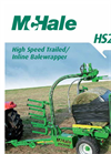 Round Bale Wrapper HS2000- Brochure
