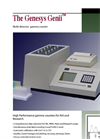 Genesys - Model Genii Series - Multi-Well Gamma Counters - Brochure