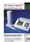 Genesys Gamma-1 - Single Detector RIA Gamma Counter - Brochure