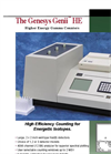 Genesys Genii - Model HE - Higher Energy Gamma Counters - Brochure