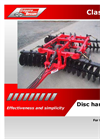 Model X - Disc Harrows Brochure