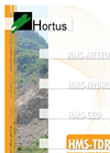 Hortus - HMS-TDR Series - Time Domain Reflectometry (TDR) Monitoring Systems Brochure