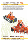 Model RPL - Rotary Harrow- Brochure