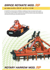 Model RP - Rotary Harrow Brochure