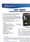 XC-260 Manual Source Sampling Console Flyer