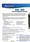 XC-40 Source Sampling Console Flyer
