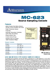 MC-623 Source Sampling Console Flyer