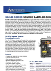 XC-500 Series Source Sampler Console Brochure