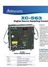 XC-563 Digital Source Sampling Console Flyer
