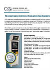 Reconditioned Gas Cabinets - Datasheet