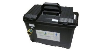Turbo Rain Solar Charged Rain Water Pump with Automatic Timer