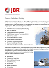 Source Testing Brochure