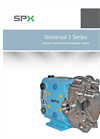Universal - 1 Series Standard Models - Rotary Positive Displacement Pumps Brochure