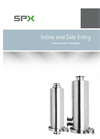 SPX - Model FH-1843 - In-Line and Side Entry Filters and Strainers - Brochure