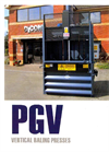 Model PGV650 - Mill-Size Baler Brochure