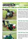 Groundsman - Model TMC46 - Turf Cutter - Brochure