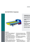 MULTIDOS - Model E - Weigh Feeder Brochure