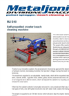 MJS90 Self-Propelled Crawler Beach Cleaning Machine Brochure