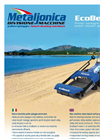 New EcoBeach - beach cleaner self-propelled - By Metaljonica