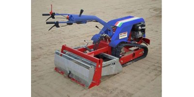 Model MJS90 - Self-Propelled Crawler Beach Cleaning Machine