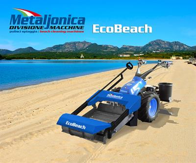 Metaljonica - Model EcoBeach - Self-Propelled Beach Cleaning Machine