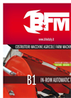 Model B1 - In-Row Automatic Tiller - Brochure