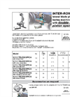 Model S/110 - Inter Row Blade Plant Baring Machines Brochure