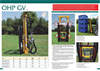 Agromec - Model OHP GV 1300 - Fork Lifts - Datasheet
