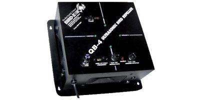Bird-X - Model QuadBlaster QB-4 - Ultrasonic Bird Repeller