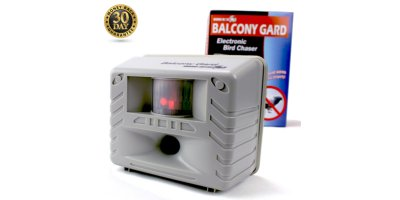 Bird-X - Model Balcony Gard - Electronic Bird Control Device