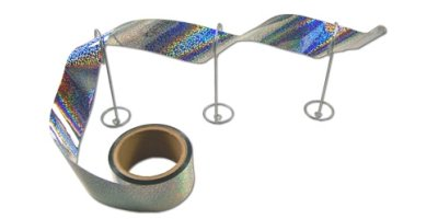 Irri-Tape - Holographic Bird Tape Flashes