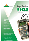 Regal Series RH20 - Handheld Ultrasonic Flowmeter Brochure