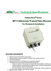 EnduroFlow Series - Model EF11 - Ultrasonic Transit-Time Flowmeter Brochure