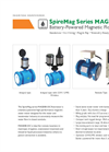 SpireMag Series MAG888-DC - Battery-Powered Magnetic Flow Meter Brochure