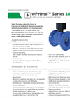 Model wPrime Series 280W-CI - Ultrasonicwater Meter - Brochure
