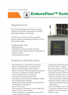 EnduroFlow Series EF12 - Solar Powered Ultrasonic Flowmeter - Brochure - Datasheet