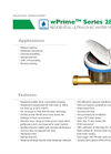 Spire Metering - Model wPrime 280W-R - Ultrasonic Water Meter - Brochure
