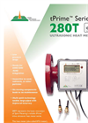 Spire Metering - Model tPrime 280T - Ultrasonic Heat Meter - Brochure