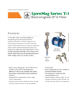 Spire Metering - Model SpireMag Series T-MAG - Electromagnetic BTU Meter - Datasheet