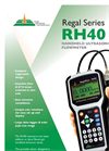 Regal Series RH40 - Handheld Ultrasonic Flowmeter Brochure