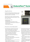 EnduroFlow Series EF12 - Solar Powered Ultrasonic Flowmeter- Datasheet