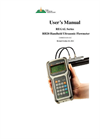 Spire Metering - Model RH20 - Handheld Ultrasonic Flowmeter - Manual